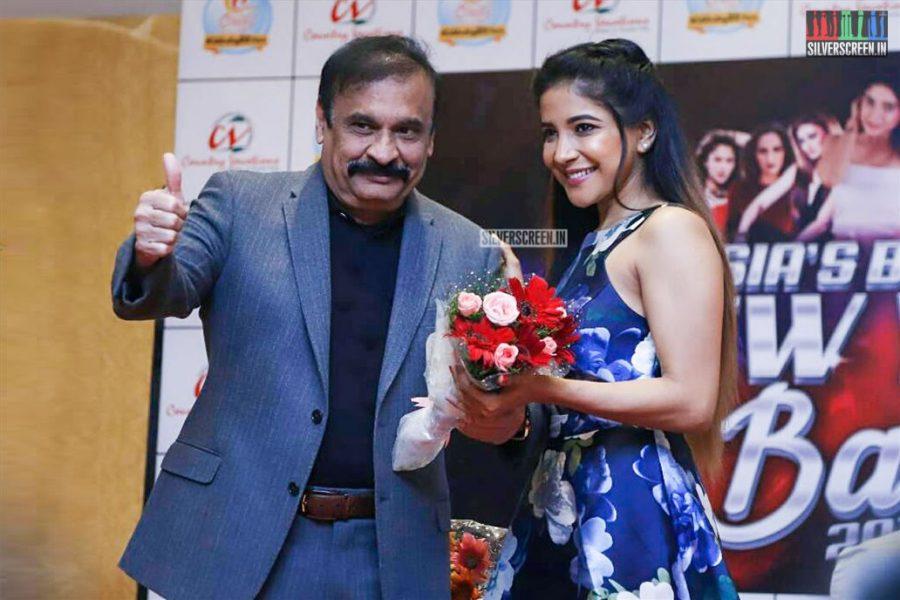 Sakshi Agarwal At The Launch Of New Year Bash 2019 In Chennai