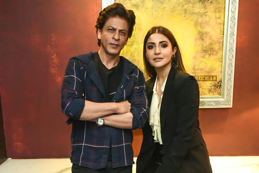 Shah Rukh Khan & Anusha Sharma Promote 'Zero'
