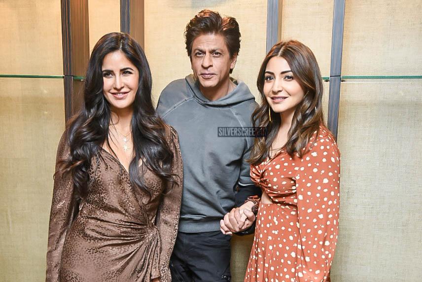 Shah Rukh Khan, Anushka Sharma And Katrina Kaif Promote 'Zero' in Delhi