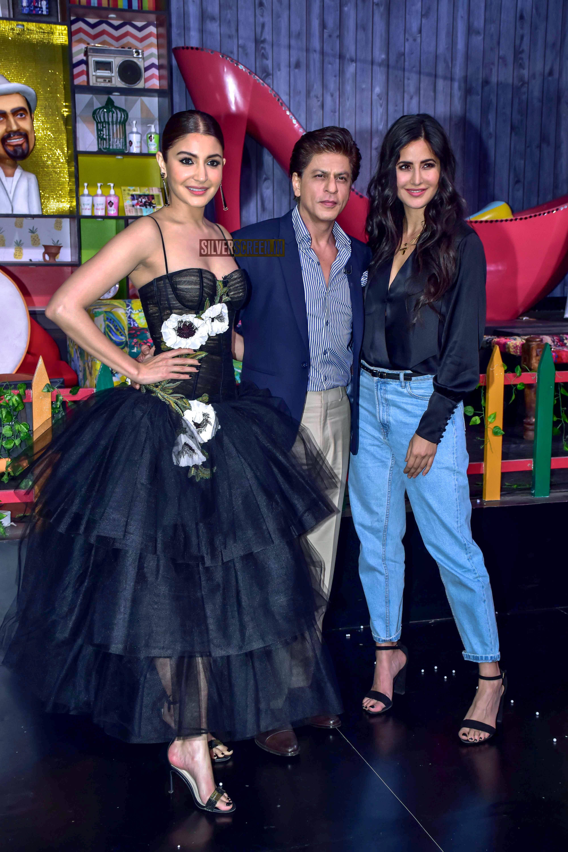 Shah Rukh Khan, Katrina Kaif And Anushka Sharma Promote ...