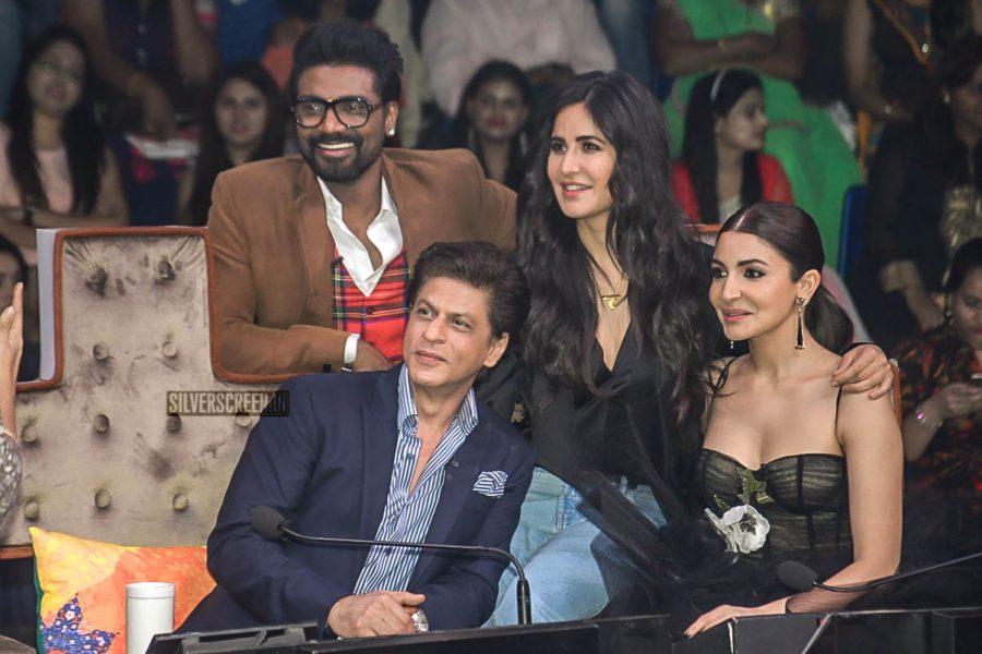 Shah Rukh Khan, Katrina Kaif And Anushka Sharma Promote 'Zero' On The Sets Of Dance Plus 4