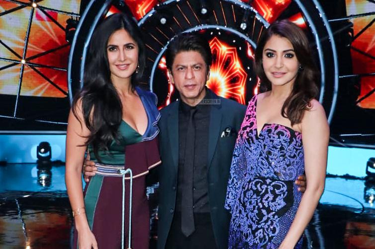 Shah Rukh Khan, Katrina Kaif And Anushka Sharma Promote 'Zero' On The Sets Of Indian Idol