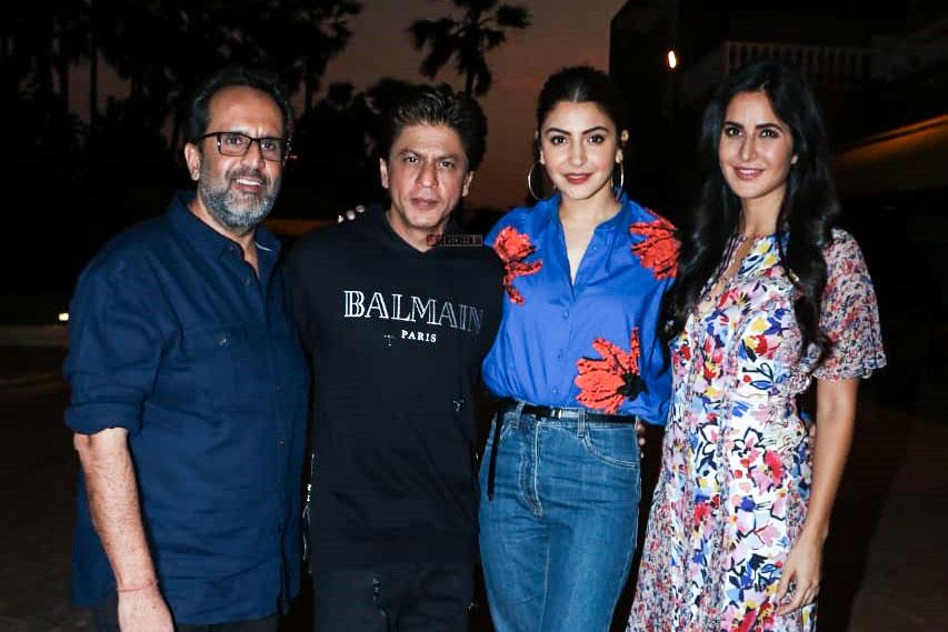Shah Rukh Khan, Katrina Kaif, Anushka Sharma Promote 'Zero'