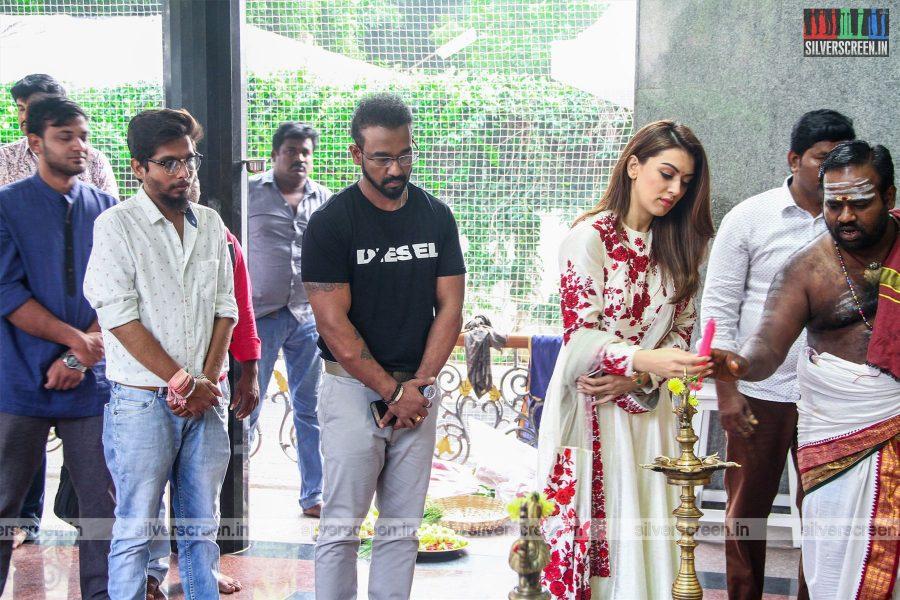 Hansika Motwani At The 'Maha' Movie Launch