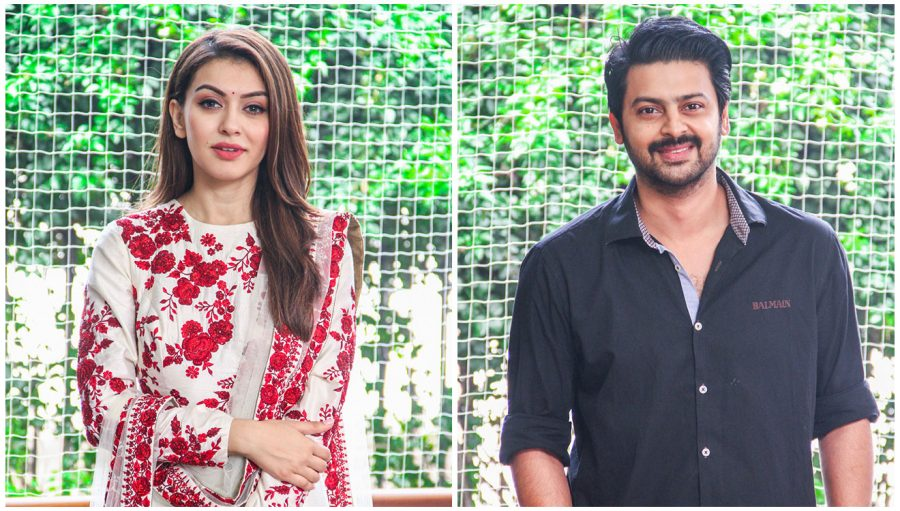 Srikanth, Hansika Motwani At The 'Maha' Movie Launch