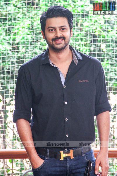 Srikanth At The 'Maha' Movie Launch