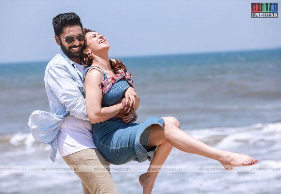 Thuppakki Munai Movie Stills Starring Vikram Prabhu, Hansika Motwani