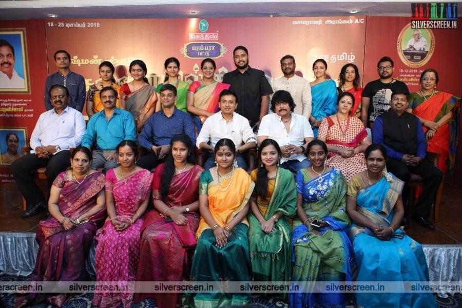 Unni Krishnan At The Chennaiyil Thiruvaiyaru Season 14 Press Meet