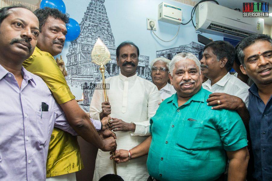 Vairamuthu At A Restaurant Launch In Chennai