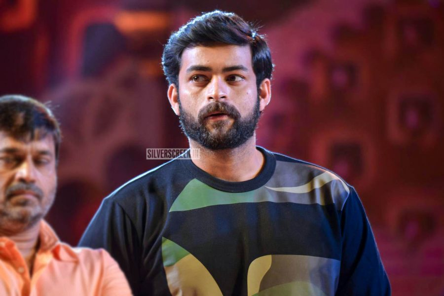 Varun Tej At The 'F2-Fun And Frustration' Audio Launch