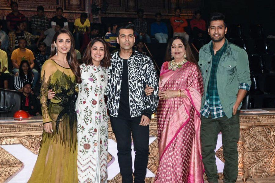 Malaika Arora, Karan Johar, Vicky Kaushal, Yami Gautam Promote 'Uri' On The Sets Of India's Got Talent