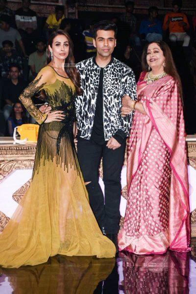 Malaika Arora, Karan Johar Promote 'Uri' On The Sets Of India's Got Talent