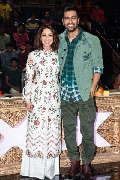Vicky Kaushal, Yami Gautam Promote 'Uri' On The Sets Of India's Got Talent