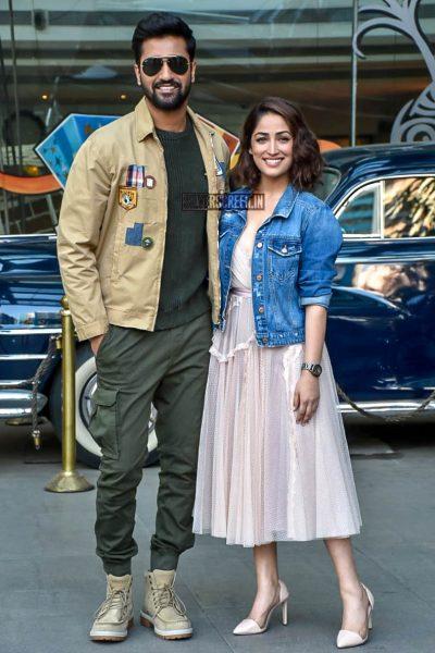 Vicky Kaushal, Yami Gautam Promote 'Uri'