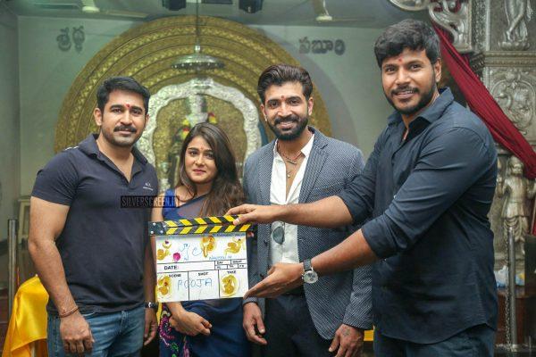 Vijay Antony, Arun Vijay, Shalini Pandey At The 'Jwala' Movie Launch