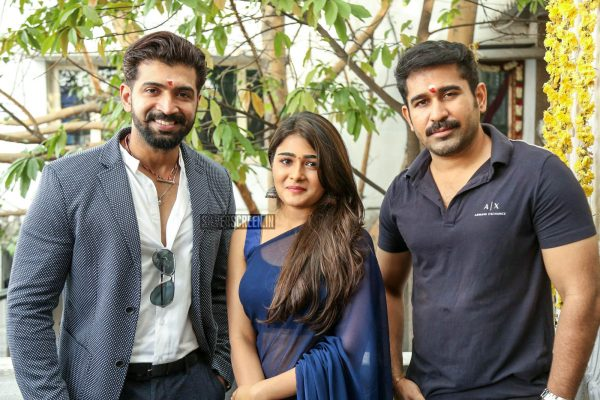 Vijay Antony, Arun Vijay, Shalini Pandey At The 'Jwala' Movie Launch