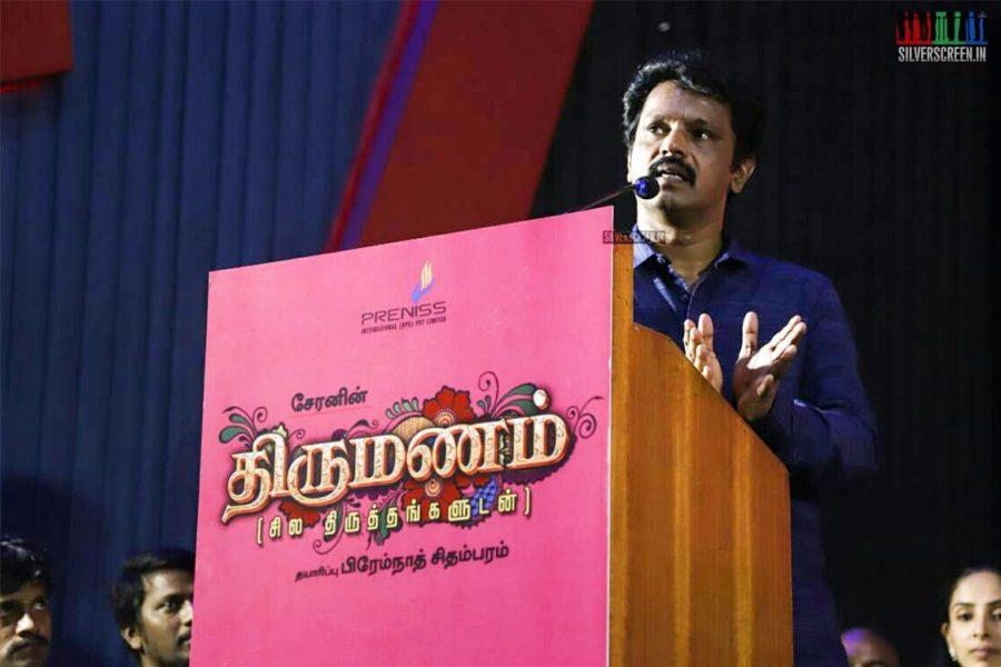 Director Cheran's 'Thirumanam' Movie Launch