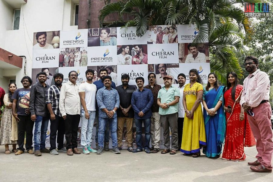 Director Cheran's 'Thirumanam' Movie Launch Photos