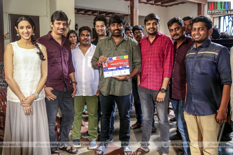 Vijay Sethupathi At The 'Jiiva-Rathina Siva' Movie Launch