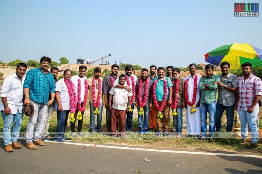 Vijay Sethupathi, Seenu Ramasamy At The 'YSR Films Production No.2' Movie Launch