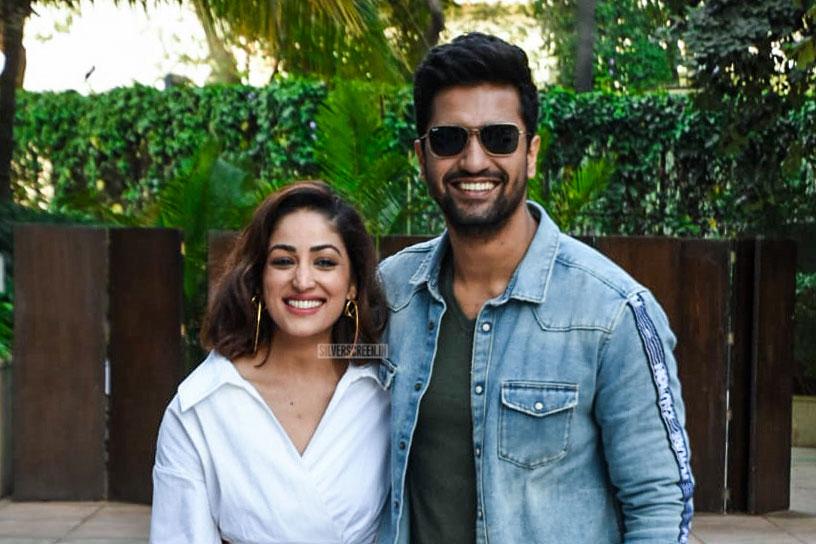 Yami Gautam And Vicky Kaushal Promote 'Uri'