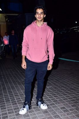 Ishaan Khattar At The 'Kedarnath' Movie Premiere