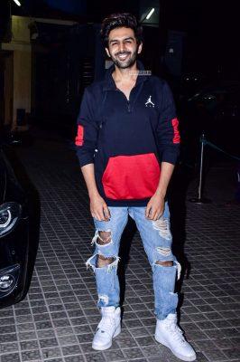 Kartik Aaryan At The 'Kedarnath' Movie Premiere