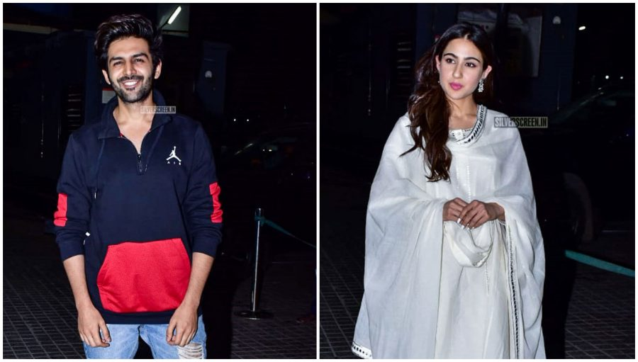 Kartik Aaryan, Sara Ali Khan At The 'Kedarnath' Movie Premiere