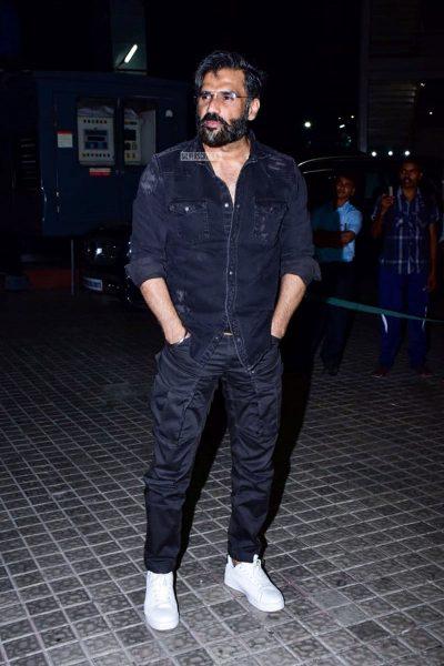 Suniel Shetty At The 'Kedarnath' Movie Premiere