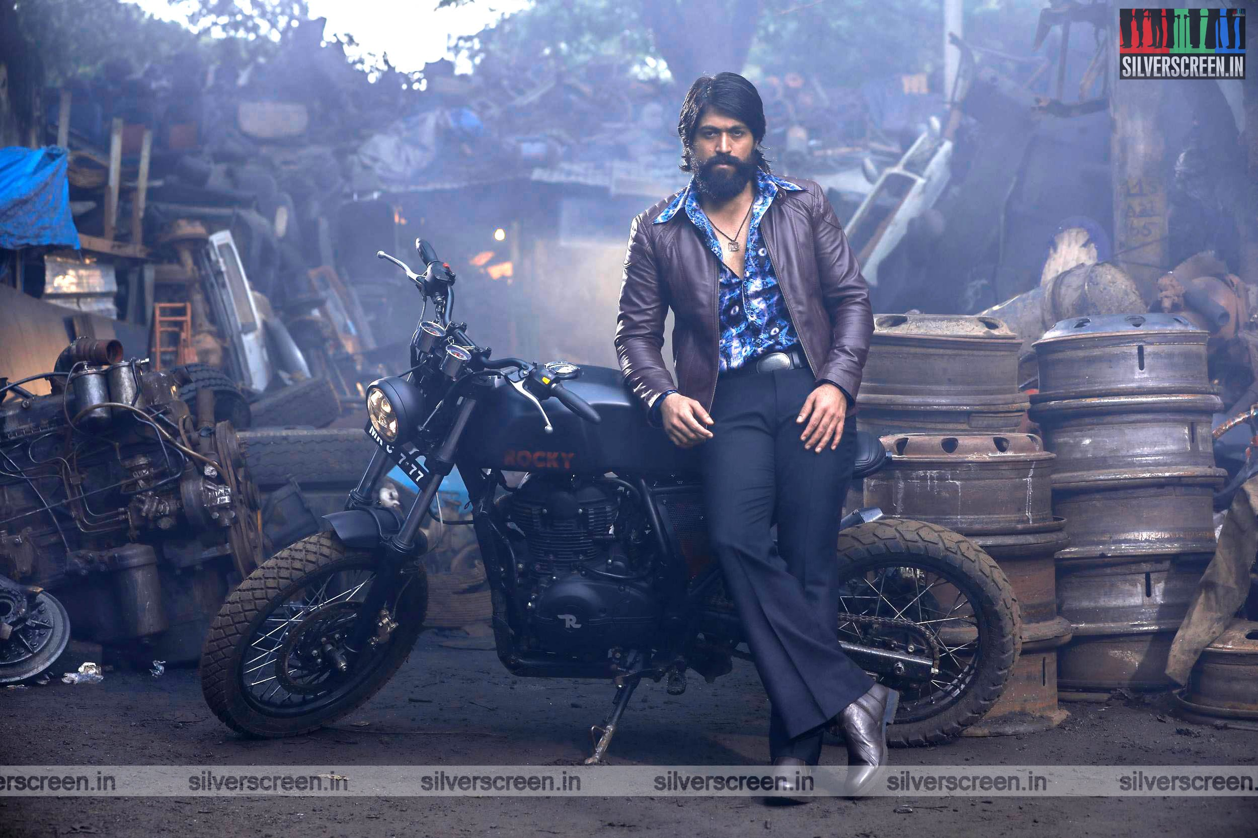 Kgf Movie Stills Starring Yash Srinidhi Shetty