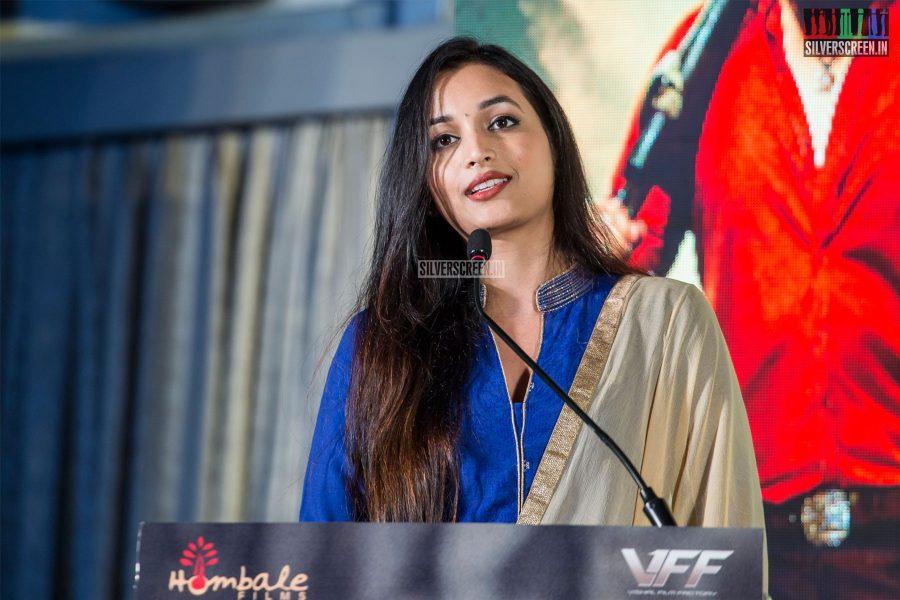 Srinidhi Shetty At The 'KGF' Press Meet In Chennai