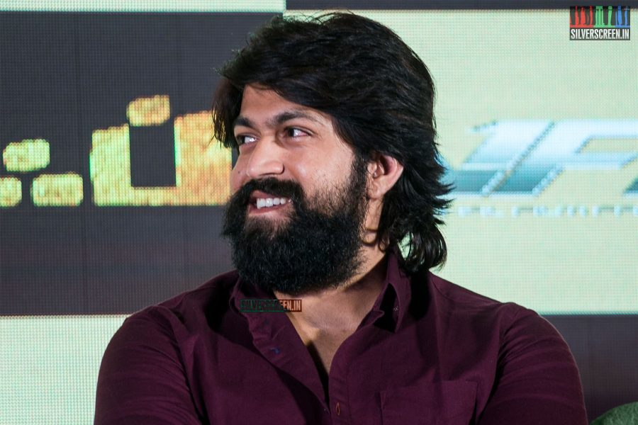 Yash At The 'KGF' Press Meet In Chennai
