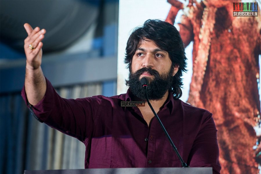 Yash At The 'KGF' Press Meet In Chennai