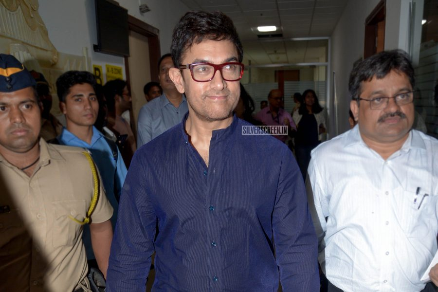 Aamir Khan At The Child Obesity Awareness Event
