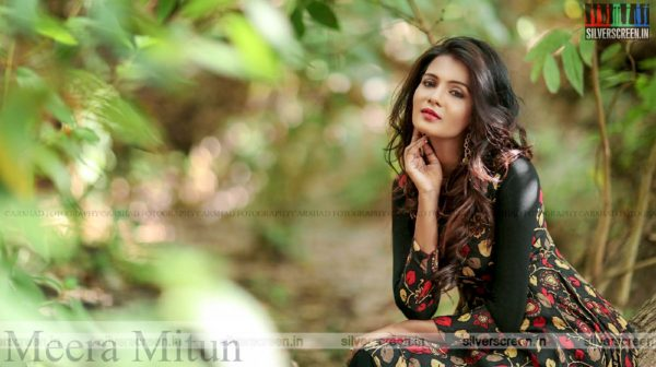 Actress Meera Mitun Photoshoot Stills