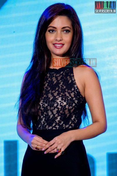 Actress Riya Sen at the Mamallan Software Website Launch  Press Meet