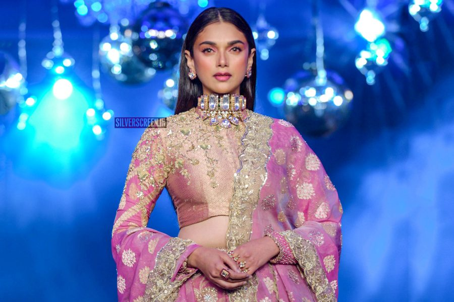 Aditi Rao Hydari Walks The Ramp For Sahachari Foundation