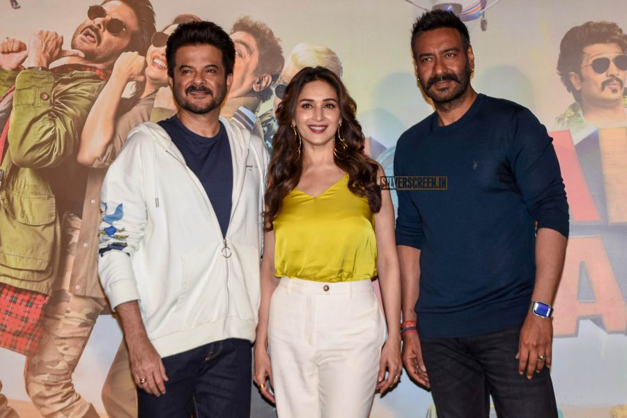 Ajay Devgn, Anil Kapoor, Madhuri Dixit At The 'Total Dhamaal' Trailer Launch