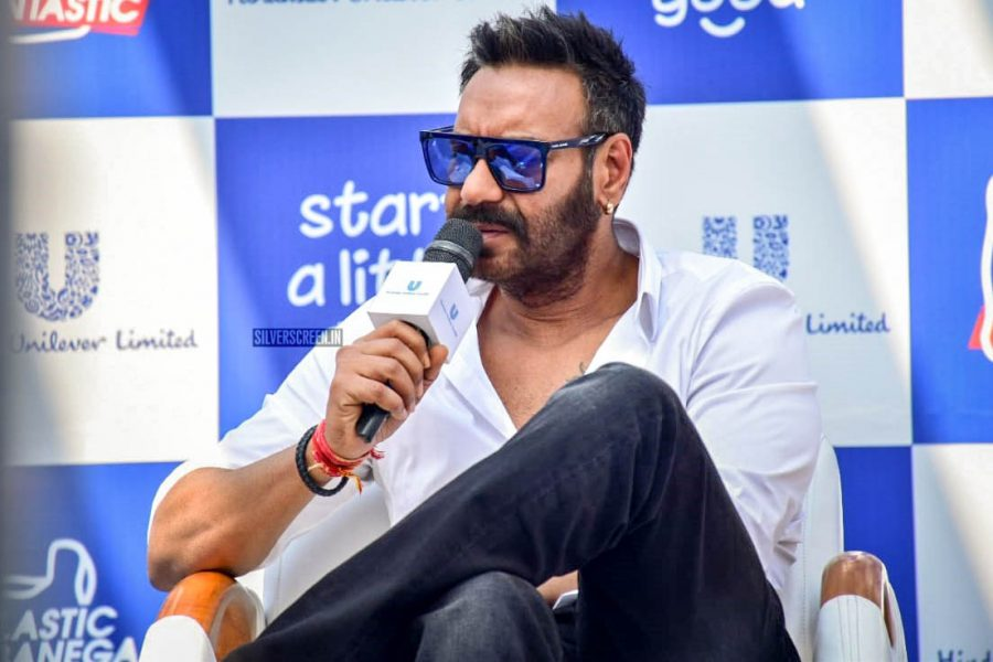 Ajay Devgn At The '#PlasticBanegaFatastic' Event