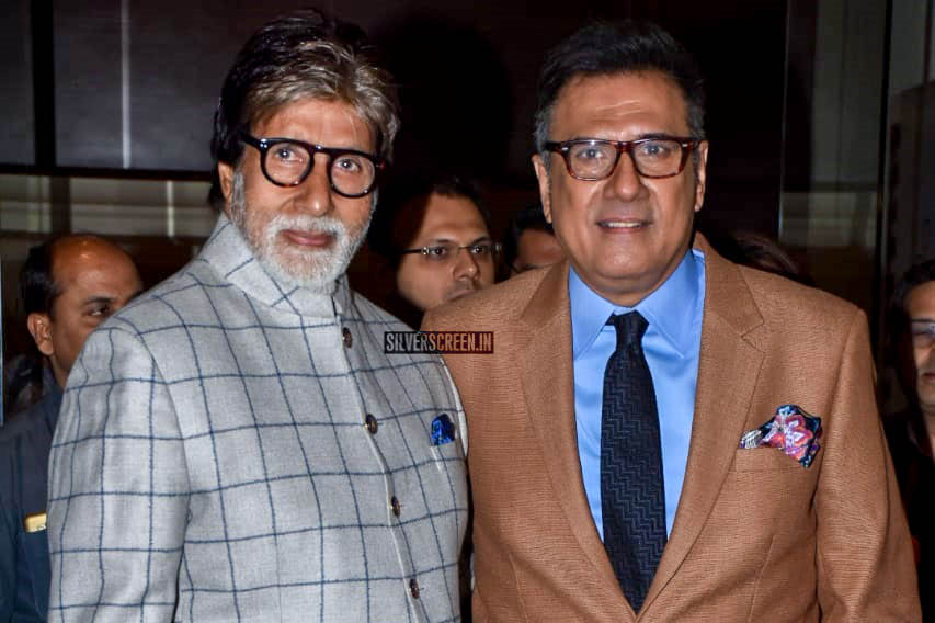 Amitabh Bachchan At The Launch Of Boman Irani Production House