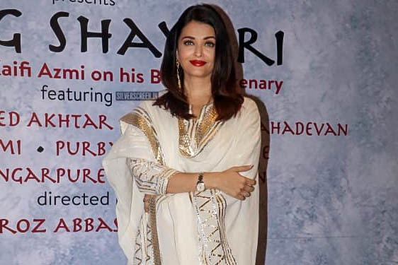Aishwarya Rai Bachchan At The 'Raag Shayari' Premiere