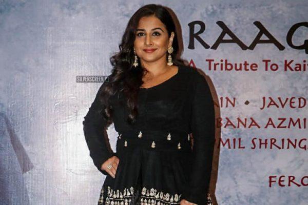 Vidya Balan At The 'Raag Shayari' Premiere