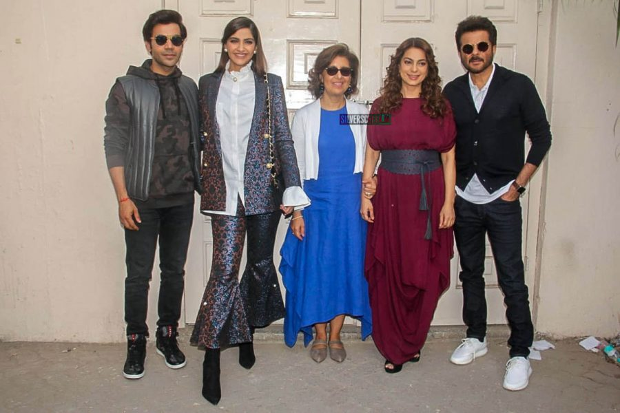 Anil Kapoor, Juhi Chawla, Sonam Kapoor, Rajkummar Rao At The 'Ek Ladki Ko Dekha Toh Aisa Laga' Press Meet