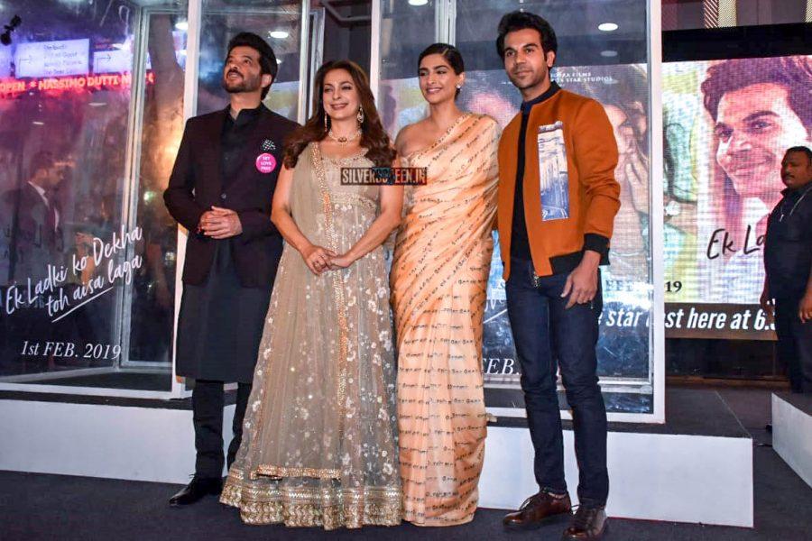 Anil Kapoor, Juhi Chawla, Sonam Kapoor Promote 'Ek Ladki Ko Dekha Toh Aisa Laga'