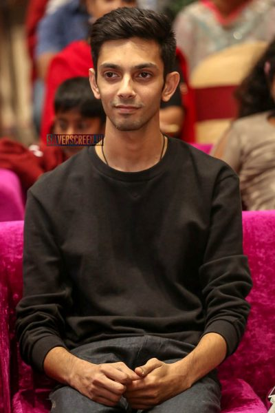 Anirudh Ravichander At The 'Petta' Audio Launch