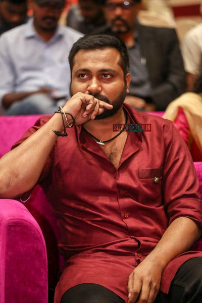 Bobby Simha At The 'Petta' Audio Launch