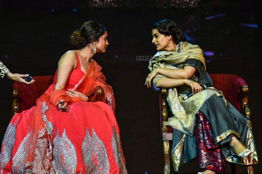 Ankita Lokhande, Kangana Ranaut At The 'Manikarnika–The Queen Of Jhansi' Song Launch