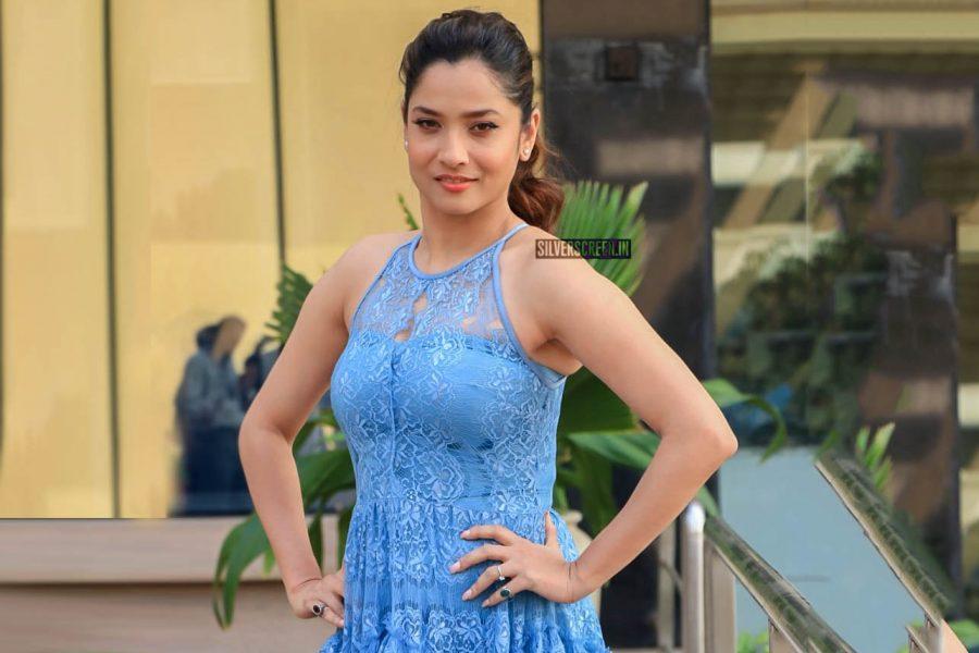 Ankita Lokhande Promotes 'Manikarnika–The Queen Of Jhansi' In Mumbai
