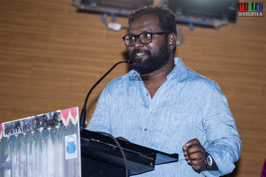 Arunraja Kamaraj At The 'Thirumanam' Audio Launch