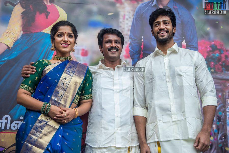 Cheran, Kavya Suresh, Umapathy At The 'Thirumanam' Audio Launch